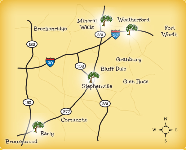 Countryside Therapy Group Locations